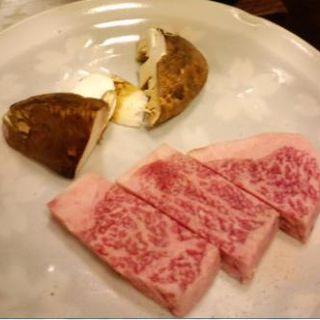 近江牛のステーキ(京料理 鍋料理 鳥久)