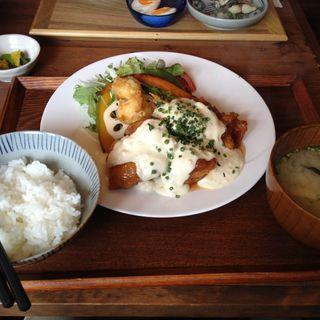 チキン南蛮(いっかく食堂)