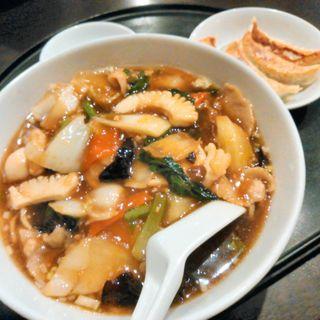 麺セット(中国小皿酒家 楽山 (チュウゴクコザラシュカラクザン))