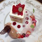 ショートケーキ(皿盛り)