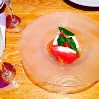 フルーツトマトのカプレーゼ(RIGOLETTO KITCHEN (リゴレット キッチン))