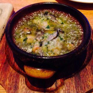 牡蠣のハーブアヒージョ(RIGOLETTO KITCHEN (リゴレット キッチン))