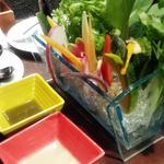 こだわり野菜のバーニャカウダー