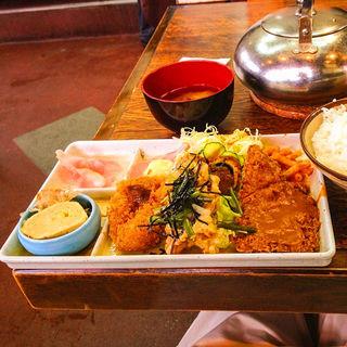 ミックスフライ定食(ハイライト食堂 御池店 )