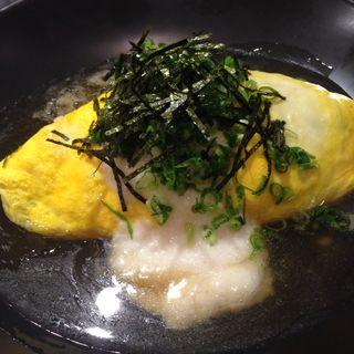 ネギ山とろろの和風スープオムライス(キッチンパレット 相鉄ジョイナス店 (Kitchen Palette))