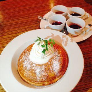 自家製パンケーキ(アネア カフェ 学芸大学店 (anea cafe))