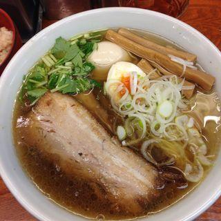 柚子焼豚ラーメン(麺屋 ひょっとこ )