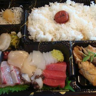 刺身弁当(まるさん松本)