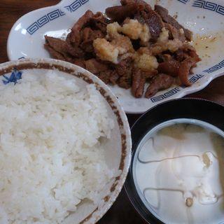 ホルモン定食(レストラン 倉井 (レストラン クライ))