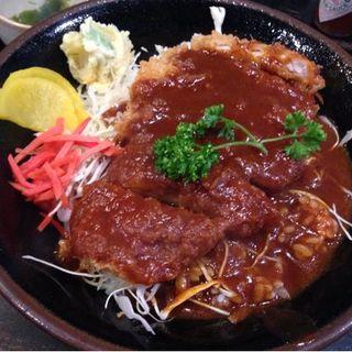 ドミかつ丼セット(キョンキョン(恭恭))