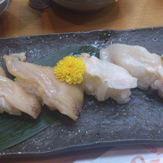 アワビ握り(黒潮鮨 )