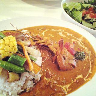 本日のきまぐれカレー(インド風エビカレー)(ミナミカレー (Minami Curry))