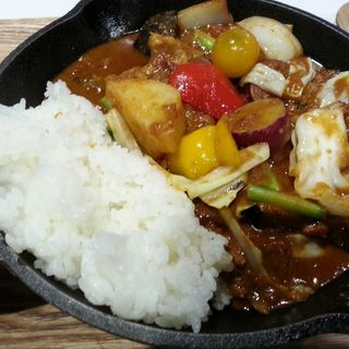 一日分の野菜カレー(野菜を食べるカレー camp express)