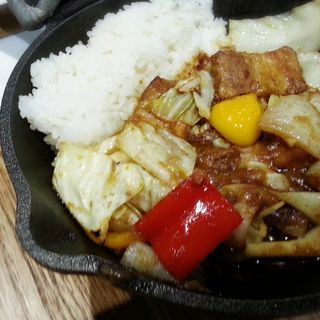 千葉県産いも豚の角煮カレー(野菜を食べるカレー camp express)