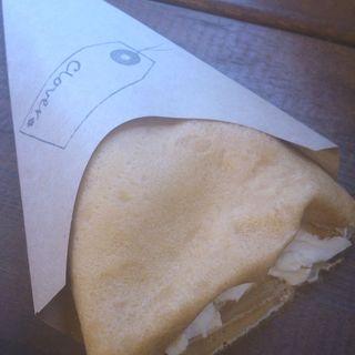 クリームチーズ(pie&crepe Clover)