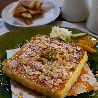 最高級のフレンチトースト(カフェルセット鎌倉)