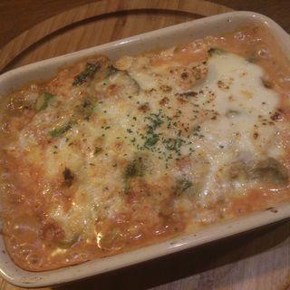 ゆで鶏とたっぷり野菜のトマトソースリゾット(焼)(Risotteria.GAKU bis)