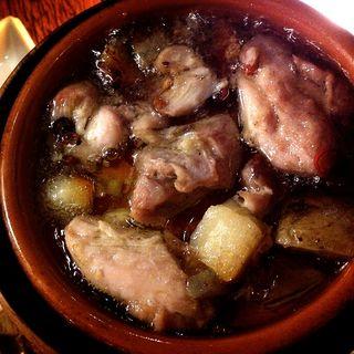 鶏肉のアヒージョ(YAKITORI&WINE バルサミコ)