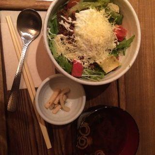 タコライス(神楽坂 茶寮 本店)