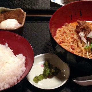 坦々麺セット(気分上々)