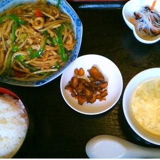 豚肉細切り炒め定食 (バンリシャン )