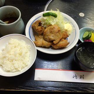チキンカツ皿盛り(嶋村)