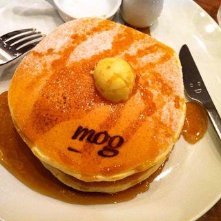 クラッシック・バターミルクパンケーキ(パンケーキカフェ mog 難波店)