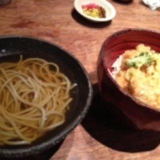 天丼そばセット(土山人)