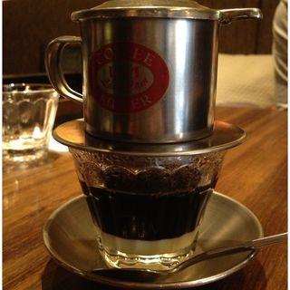 ベトナムホットコーヒー(バタフライカフェ)
