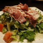 パルマ産生ハムと7種の野菜サラダ