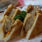 ハンバーグサンド(イノダコーヒ 本店)