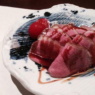 鴨ロース焼き(東日流旬彩しみず)