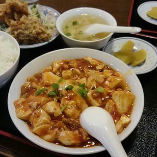 麻婆豆腐定食(栄成軒)