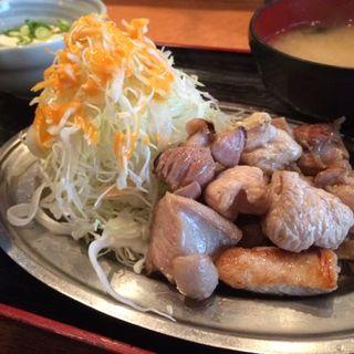 鳥の塩焼き定食(鳥ZEN亭博多駅前店)