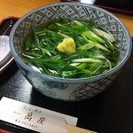 ねぎうどん(祇をん 萬屋)