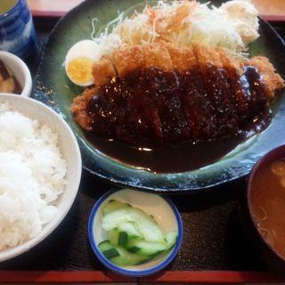 味噌かつ定食(角屋)