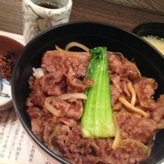 特製牛丼(人形町今半 新宿高島屋店 (にんぎょうちょういまはん))