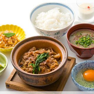 牛すき豆腐膳(銀座 熊さわ )