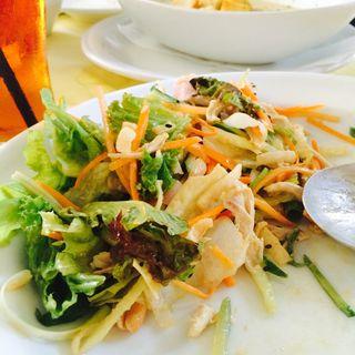 チャイニーズ チキン サラダ regular(WeST PArK café)