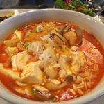海鮮純豆腐チゲ定食