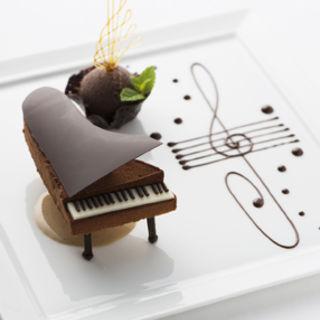 ピアノのチョコレート(CROWN)