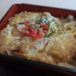 ハムカツ丼(大もり屋食堂)