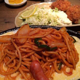 ナポリタン&カニクリームコロッケセット(キッチンひらき)