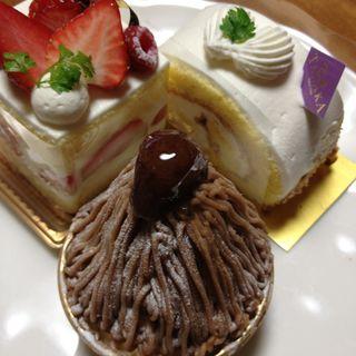 モンブラン(CAFE TANAKA)