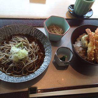 蕎麦&天丼ランチ(中村孝明名古屋)