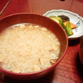 すっぽんの雑炊(すっぽん前田)