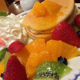 椿屋のパンケーキ(椿屋カフェ グランデュオ蒲田店)
