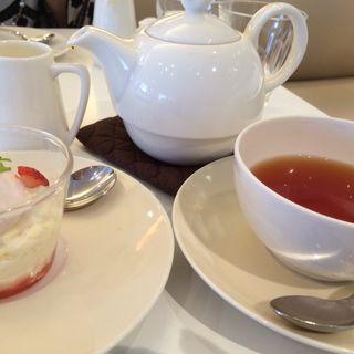 豆乳のパンナコッタ(Afternoon Tea 星ヶ丘三越)
