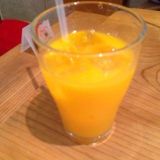 100%温州みかんジュース(からんころん食堂)