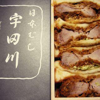 ヒレカツサンド(宇田川)